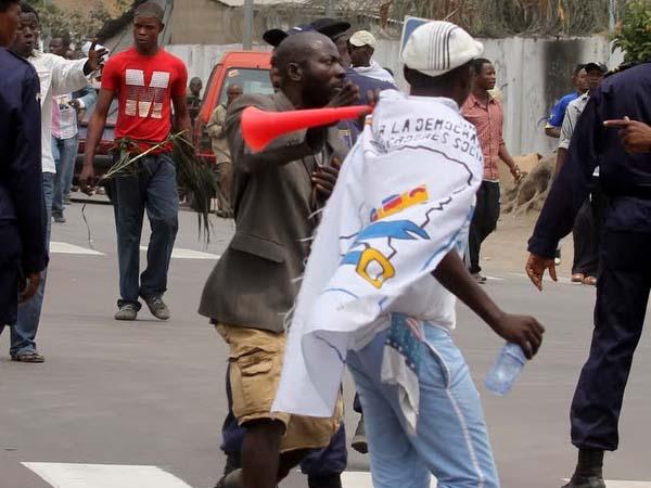 Marche ville morte à Mbujimayi