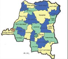 La nouvelle carte de la RDC